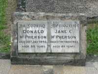 McPherson - Donald and Jane C