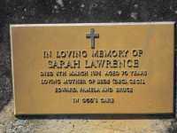 Lawrence - Sarah