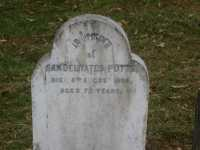 Potts - Samuel Yates