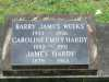 Weeks - Barry James and - Hardy - Caroline Emily and James