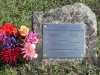 Memorial Plaque - Tisdell - William and Catherine