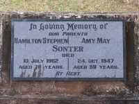 Sonter - Hamilton Stephen and Amy May