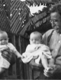 Casey - Matthew and Edward with twins