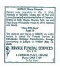 Burley - Bruce Edward - Funeral Notice