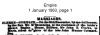 Clerke - Cormack - Marriage Notice