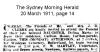 Clerke - Dolina Maria - Funeral Notice
