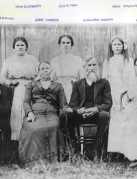 Worth - William, Jane and Family