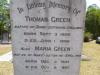 Green - Thomas and Maria