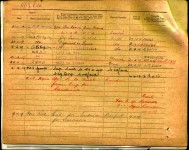 COX Charles - Military Record