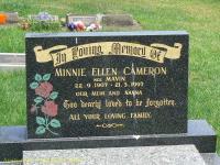 Cameron - Minnie Ellen