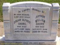 Shore - Edgar Alfred and Arthur William