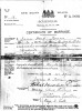 Marriage Certificate - Easton - Robert Mitchell and Holmes - Mary Alice