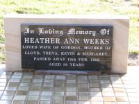 Weeks - Heather Ann