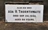 Thornthwaite - Ada R