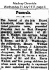 Ainsworth - Ernest - Obituary