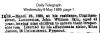 Ikin - John William - Death Notice
